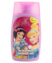 Disney Princess Ultra Mild Shower Gel - 200 ml