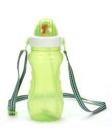 Pratap Thirsty Bite Water Bottle Green - 450 ml