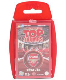 Top Trumps Super Deluxe Arsenal Football Cards - Pack Of 33