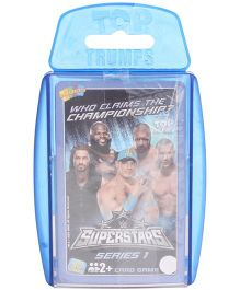 Top Trumps WWE Super Star Series 1 Cards - Pack Of 30