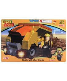 Best Lock Dump Truck Construction Set - 43 Piece