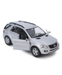 Kinsmart Pull Back Mercedes Benz Model Car Toy - Silver