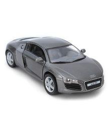 Kinsmart Pull Back Audi R8 Model Car Toy - Grey