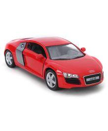 Kinsmart Pull Back Audi R8 Model Car Toy - Red