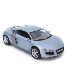 Kinsmart Pull Back Audi R8 Model Car Toy - Blue
