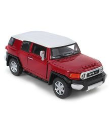 Kinsmart Pull back Toyota FJ Cruiser - Red