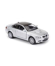 Kinsmart BMW M3 Coupe Die Cast Metal Model Toy - Grey