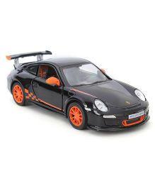 Kinsmart Pull Back Porche 911 GST Model Car Toy - Black