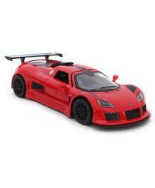 Kinsmart Pull Back Gumpert Apollo Sport Car Model Toy - Red
