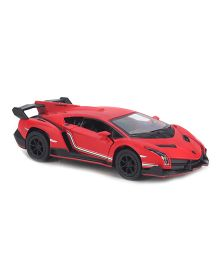 Kinsmart Matte Lamborghini Model Car Toy - Red