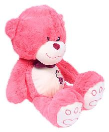 Hugzy Teddy Bear Pink - 40 cm