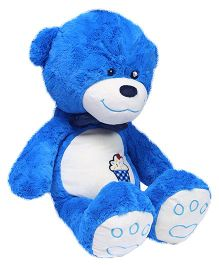 Hugzy Teddy Bear Royal Blue - 52 cm