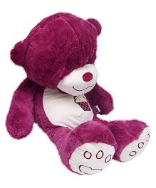 Hugzy Teddy Bear  Purple - 52 cm