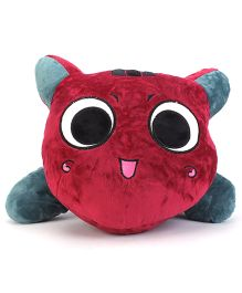 Cookie Cat Soft Toy - Maroon