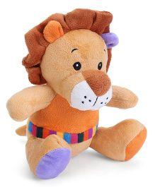 Dimpy Stuff Lion Soft Toy - Brown