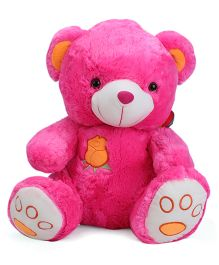 Dimpy Stuffed Teddy Bear Toy - Pink
