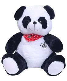 Dimpy Stuff Panda With Scarf - Black and White