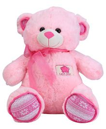 Dimpy Stuff Teddy Bear With Embroidery - Pink