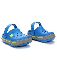 Crocs Clogs With Back Strap - Royal Blue