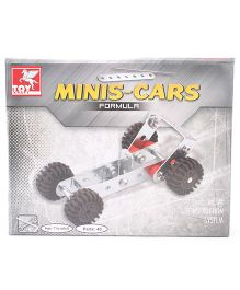 Toy Kraft Minis Formula Car Construction Set - 40 Pieces
