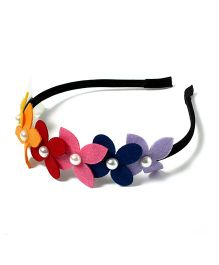 Chotee Diadem Tiara Hairband - Multicolour