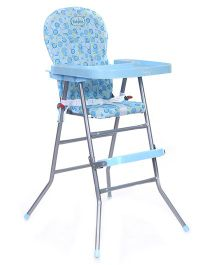 Babyhug Happy Meal High Chair - Blue