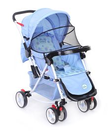 Babyhug Rock n Roll Stroller - Blue