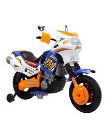 Marktech Battery Operated Super Bike 21 Orange & Blue - A21 BL