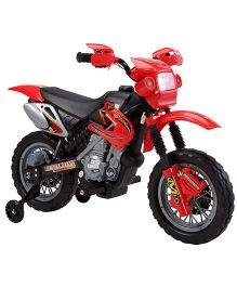 Marktech Lean Machine Bike Battery Operated Ride On - Red