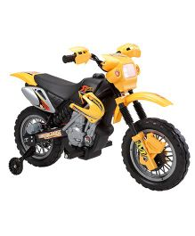 Marktech Lean Machine Bike Battery Operated Ride On - Yellow
