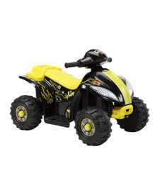 Marktech ATV Hauler Battery Operated Ride On - Yellow