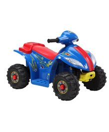 Marktech ATV Hauler Battery Operated Ride On - Blue