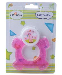 1st Step Cooling Teether - Pink