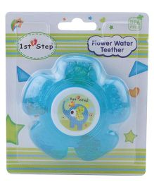 1st Step Water Filled Teether Flower Shaped - Blue