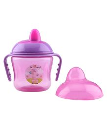 1st Step Two Handle Non Spill Sipper Cup - Pink