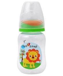 1st Step Feeding Bottle - White and Green
