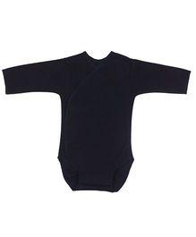 Dear Tiny Baby Long Sleeve Onesies - Black