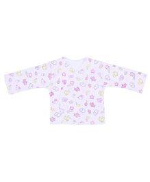 Dear Tiny Baby Long Sleeves Vest - White