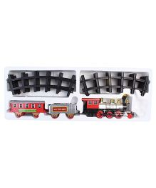 Classic Train And Track Set - 15 Pieces