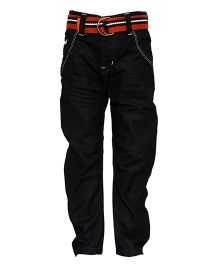 Tales And Stories Rinse Wash Straight Fit Jeans - Black