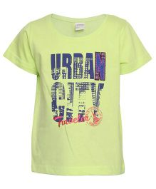 Tales And Stories Urban City T Shirt - Green