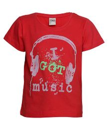 Tales And Stories Graphic Printed T-Shirt - Red
