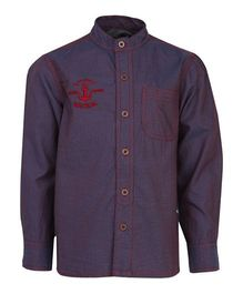 Bells and Whistles Full Sleeve Casual Shirt - Purple