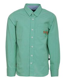 Bells and Whistles Full Sleeves Shirt - Green