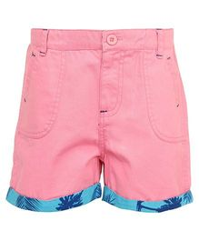 Bells and Whistles Plain Shorts - Pink