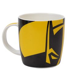B Vishal Batman Mug - Black And Yellow