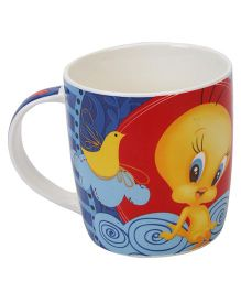 B Vishal Tweety Mug - Blue And Red