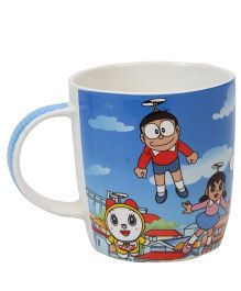 B Vishal Doraemon Mug - Blue