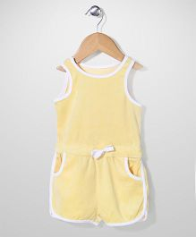 Mothercare Sleeveless Jumpsuit - Yellow