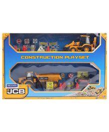 JCB Construction Vehicle Game Set - 23 Pieces